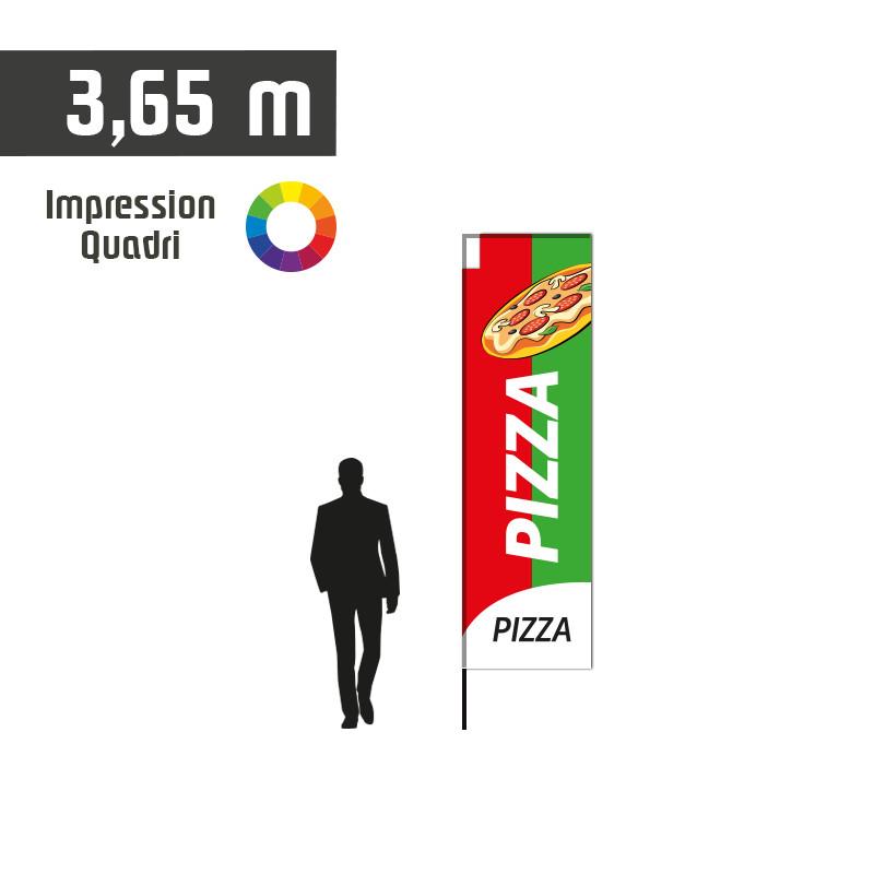Oriflamme AKA Pizza taille S