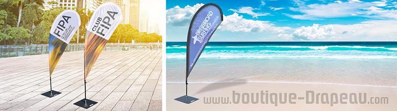 Beachflag-personnalisé